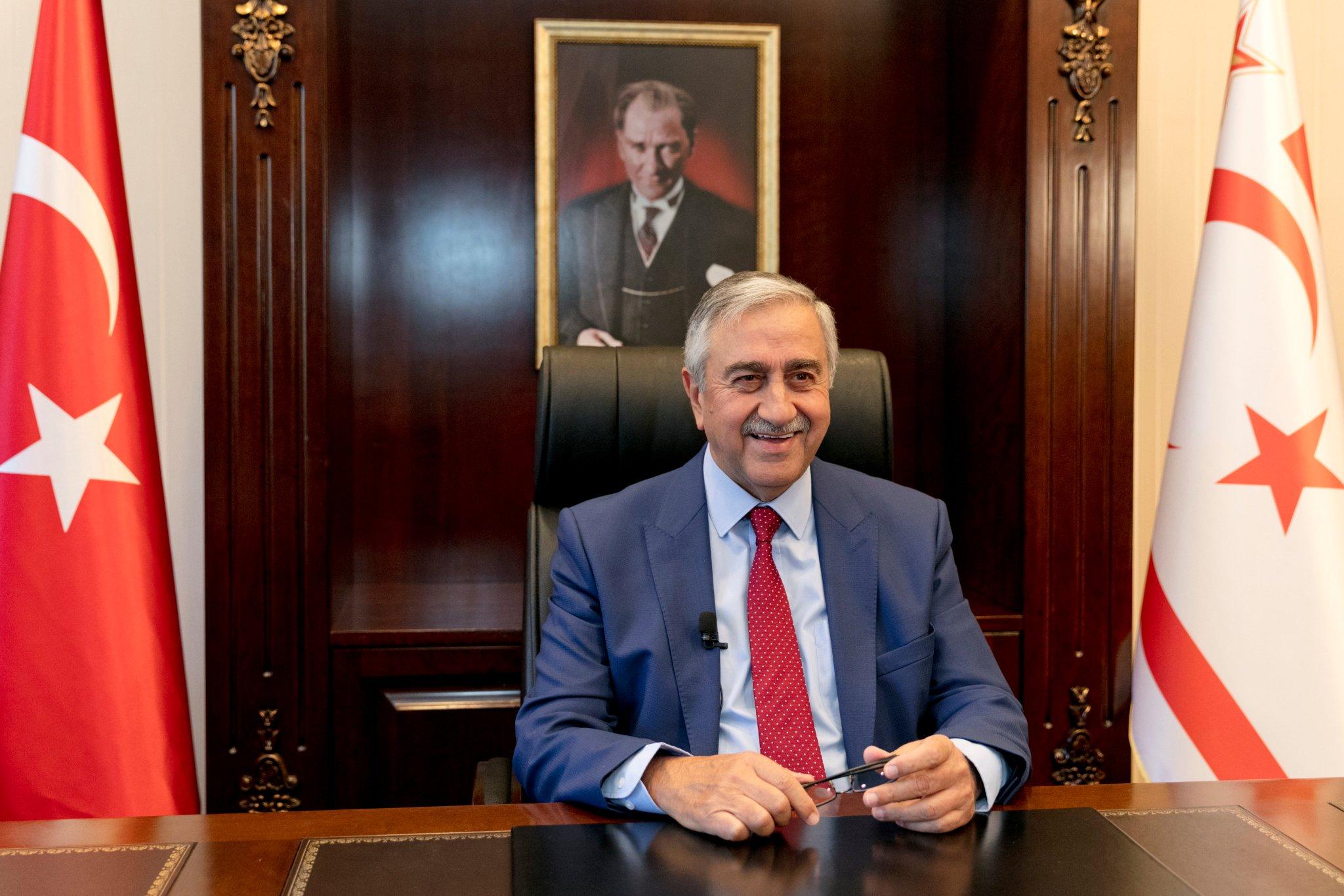 Mustafa Akıncı, Guterres ile video konferans görüşmesi yapacak
