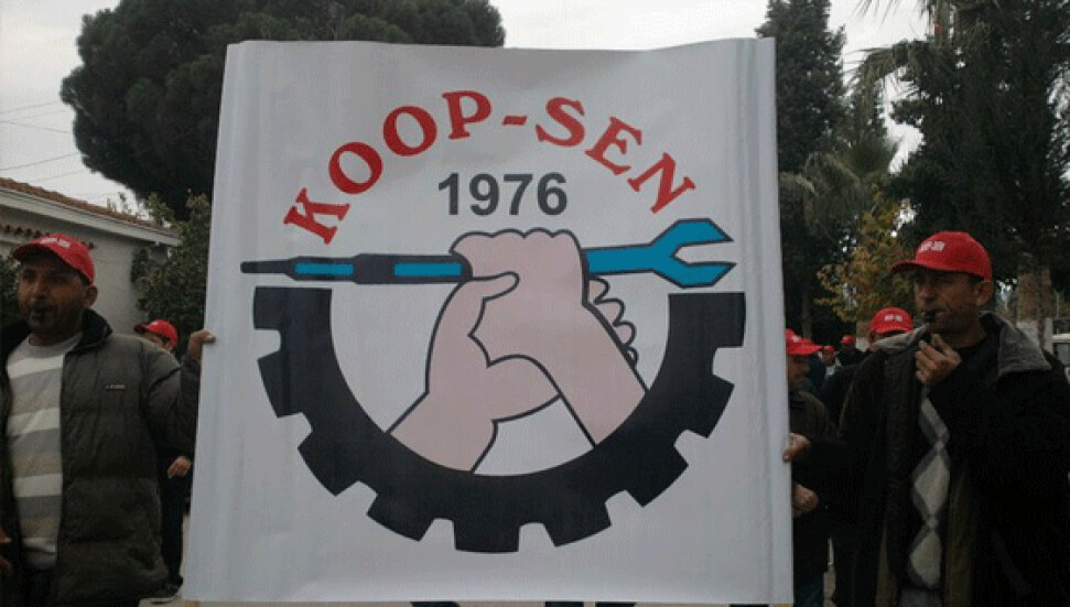 KOOP-SEN, KOOP-SÜT'TE UYARI GREVİ