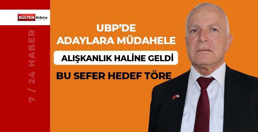 UBP'DE ADAYLIKLARA MÜDAHALE ALIŞKANLIK HALİNE GELDİ