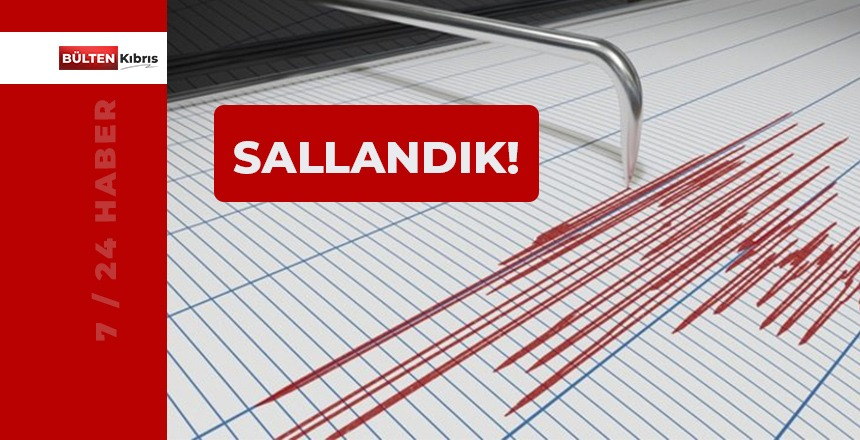 KIBRIS SALLANDI!