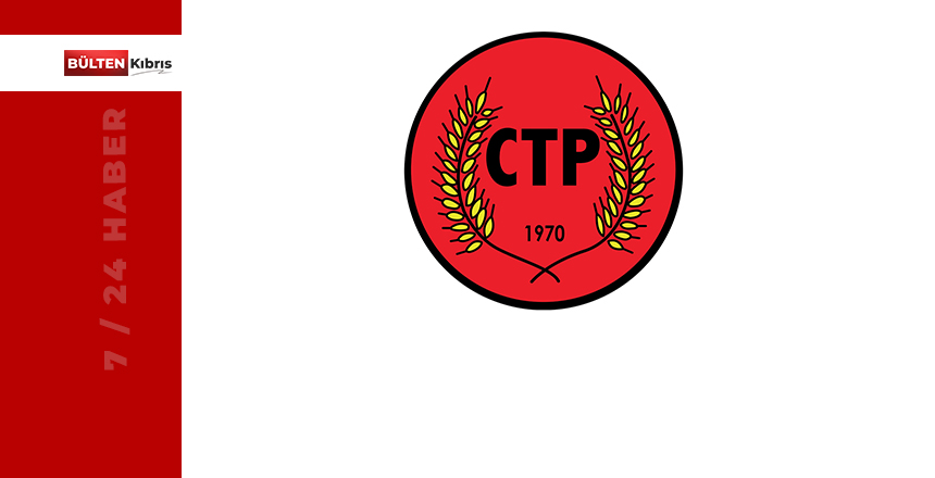 """CTP """"SEÇİM"""" GÜNDEMİ İLE TOPLANDI"""