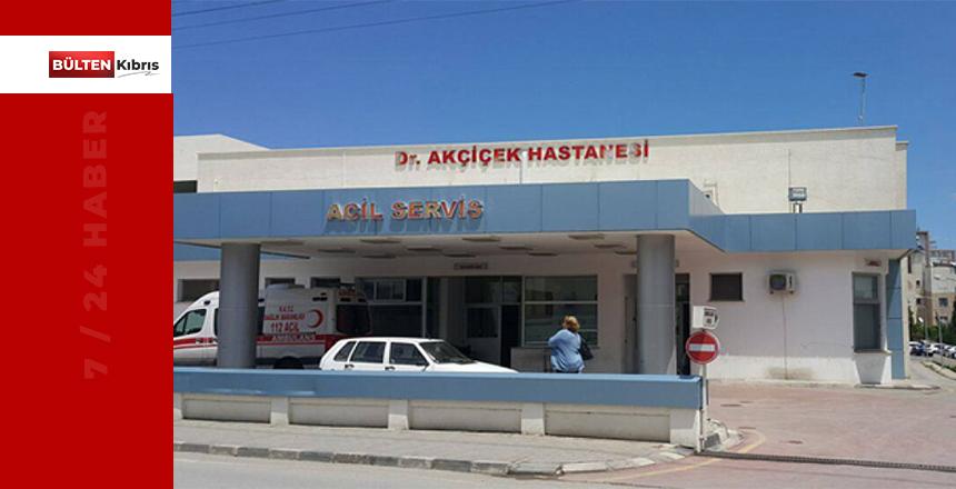 GİRNE AKÇİÇEK HASTANE'SİNDE COVİD-19 PANİĞİ!