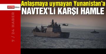 TÜRKİYE'DEN YUNANİSTAN'A KARŞI HAMLE