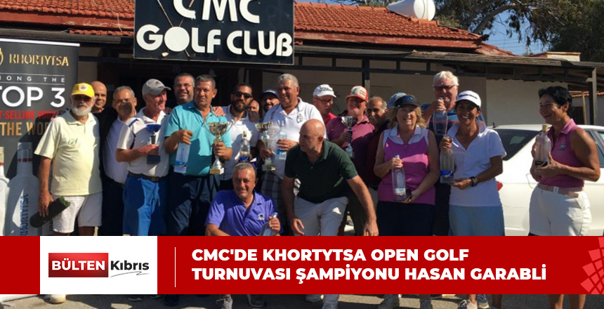 CMC'DE KHORTYTSA OPEN GOLF TURNUVASI ŞAMPİYONU HASAN GARABLİ