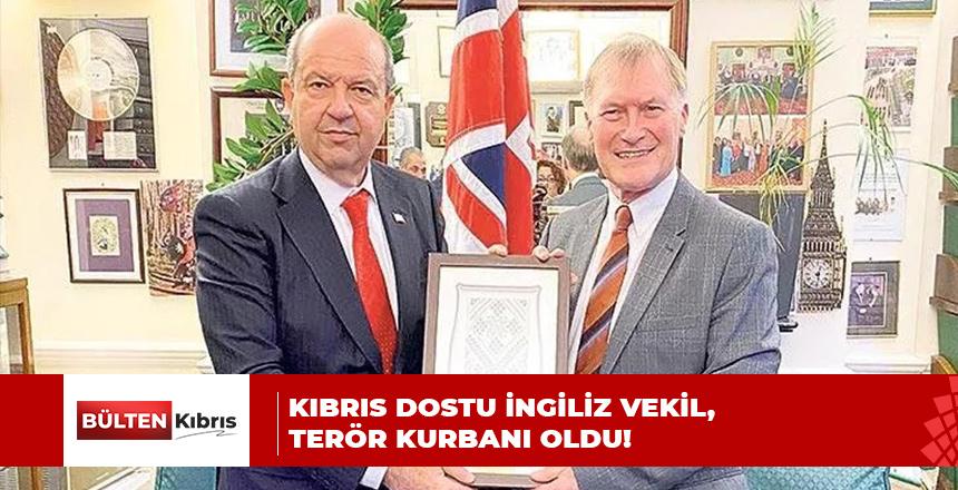 KIBRIS DOSTU VEKİL, TERÖR KURBANI OLDU!