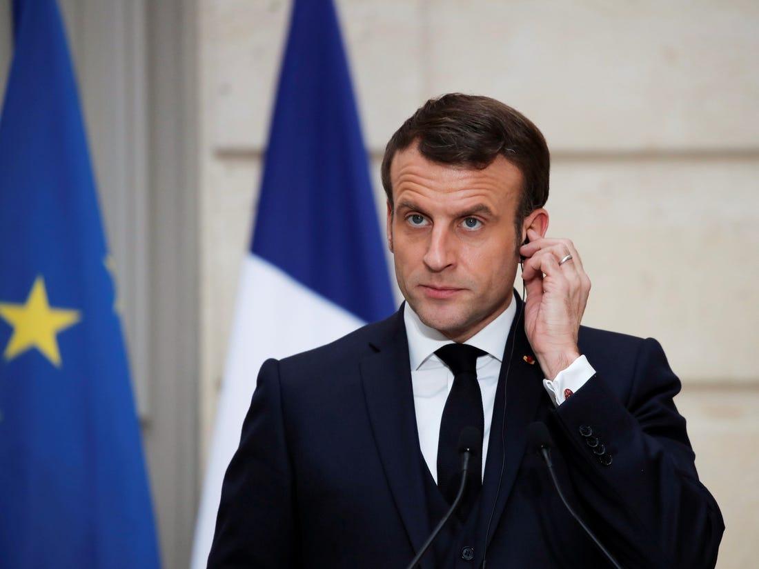 Emmanuel Macron: Türkiye'ye saygı duyuyoruz ve diyaloğa hazırız