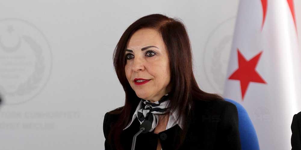 EMİNE DİZDARLI KIBRIS TÜRK HEKİMLER SENDİKASI'NIN RAPORUNU YAYIMLADI