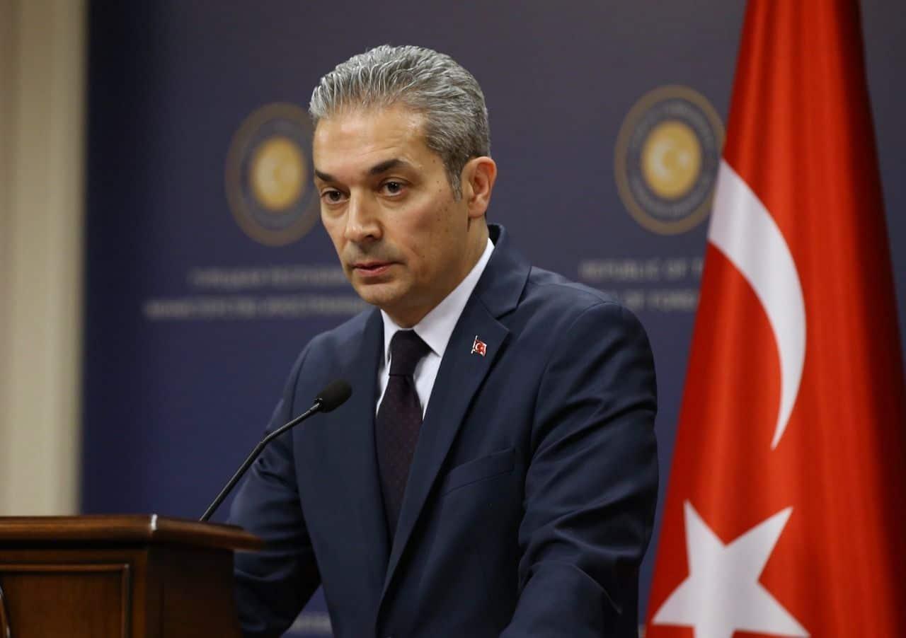 Hami Aksoy'dan Guterres'e yanıt