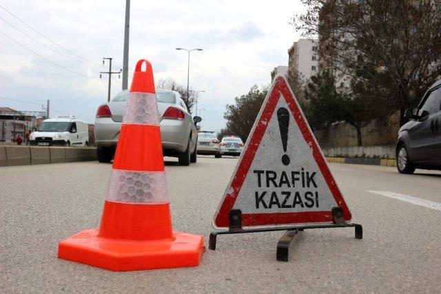 Gazimağusa'da büyük kaza!