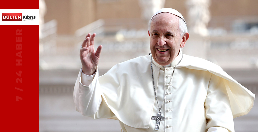 Papa Fransis ilk kez maske ile kameraya yansıdı