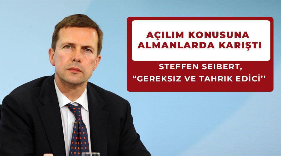 MARAŞ AÇILIMINA ALMANYA TEPKİ GÖSTERDİ!