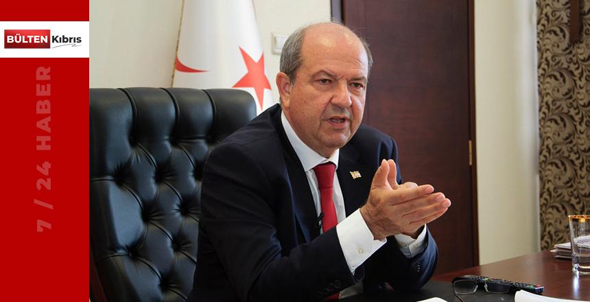"""Tatar: """"İster tanısınlar ister tanımasınlar KKTC ayrı bir devlet"""""""