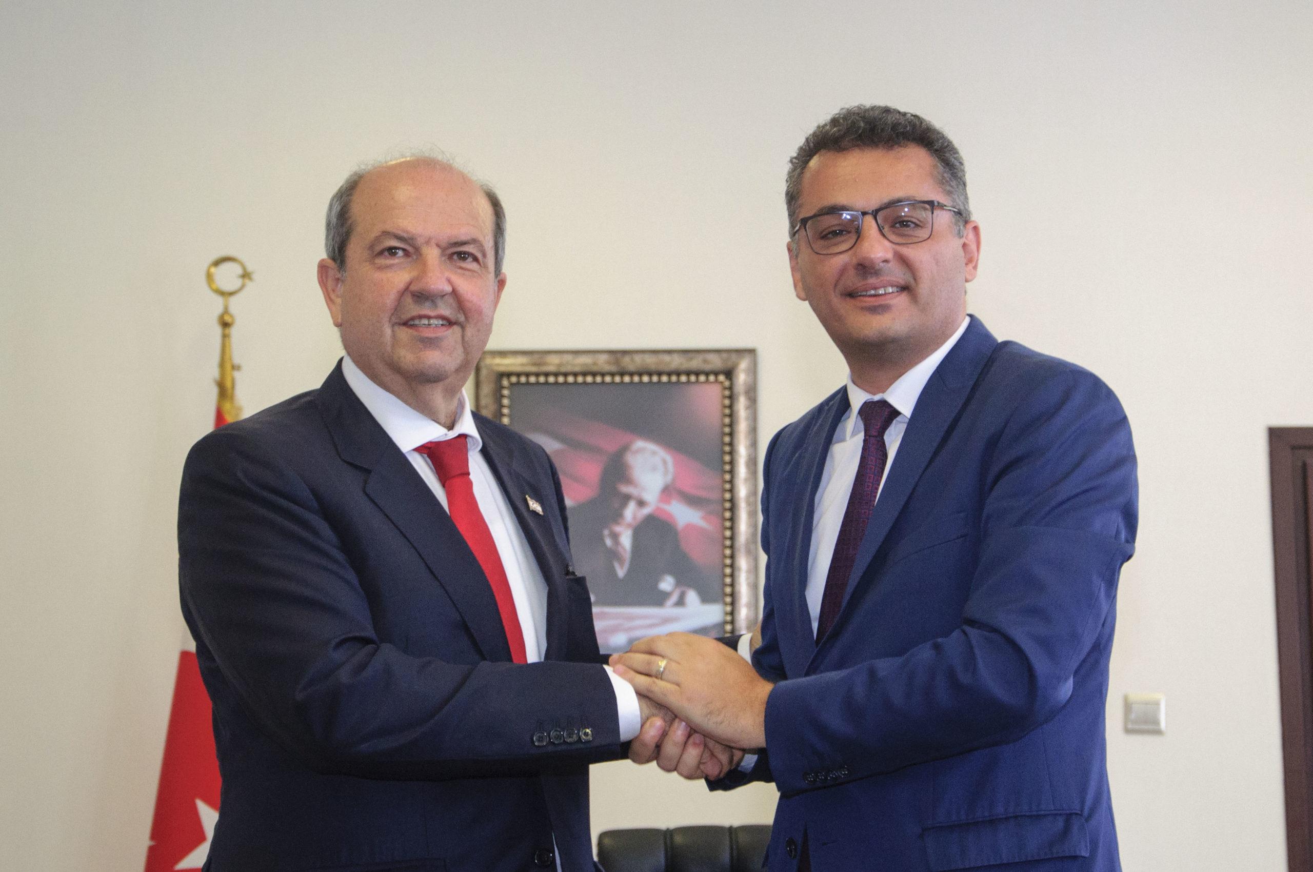 Tatar-Erhürman görüşmesi bitti