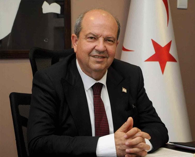 Ersin Tatar, DP Genel Merkezi'nde