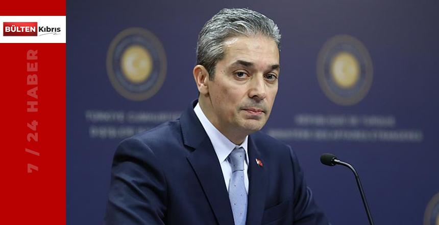 """Aksoy: """"Kıbrıs Türk halkının iradesine saygı gösterin"""""""