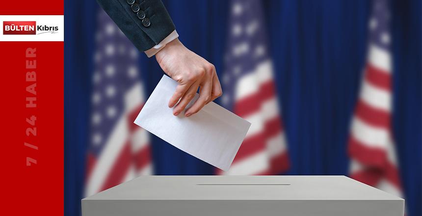 ABD yeni başkanını seçiminde Joe Biden önde