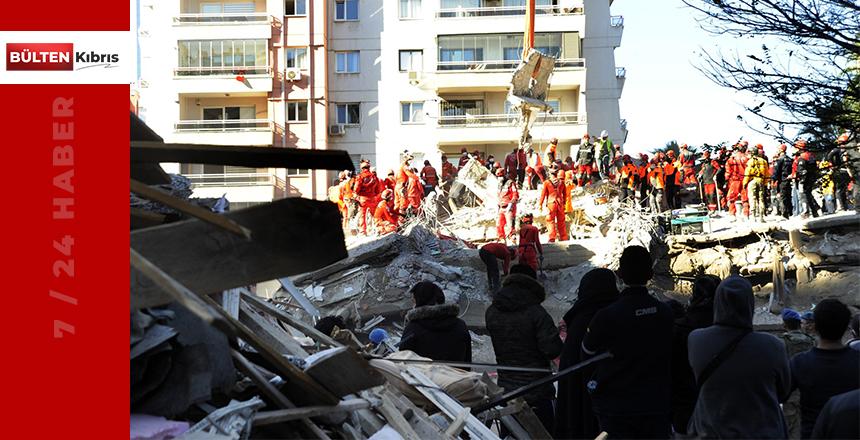İzmir'deki depremde can kayıpları artıyor!
