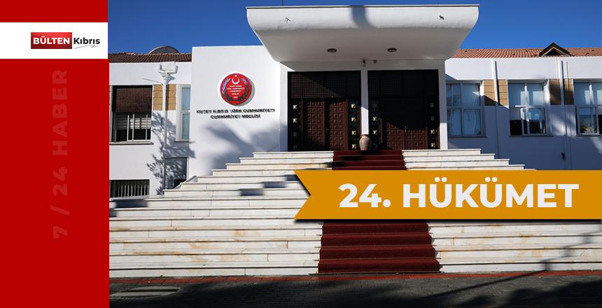 KKTC'nin 24. hükümeti göreve başlıyor!