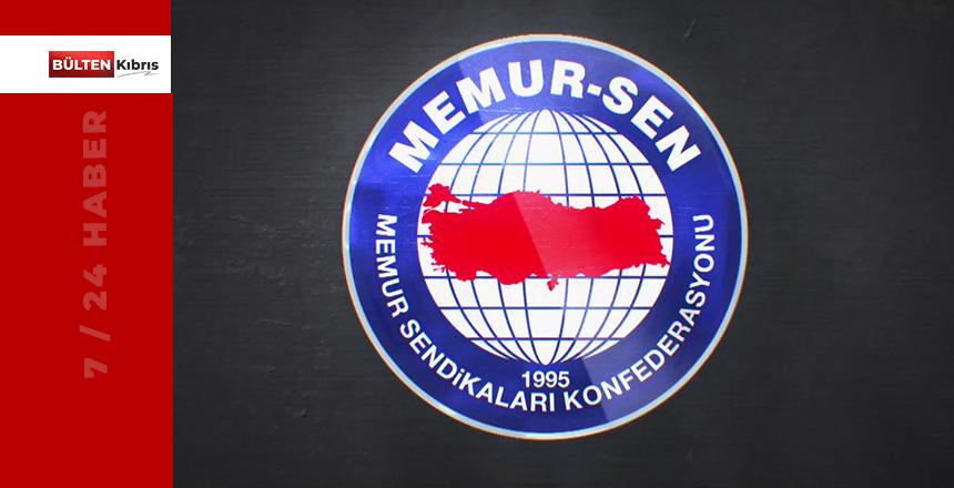 """MEMUR-SEN: """"ÜLKEMİZİN KAOSA DEĞİL HUZURA İHTİYACI VAR!"""""""