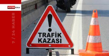 AYDINKÖY'DE TRAFİK KAZASI. YARALI VAR!