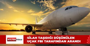 GÜNEY KIBRIS'TA UÇAK FBI UZMANLARINCA ARANDI