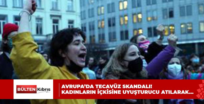 AVRUPA'DA TECAVÜZ SKANDALI!