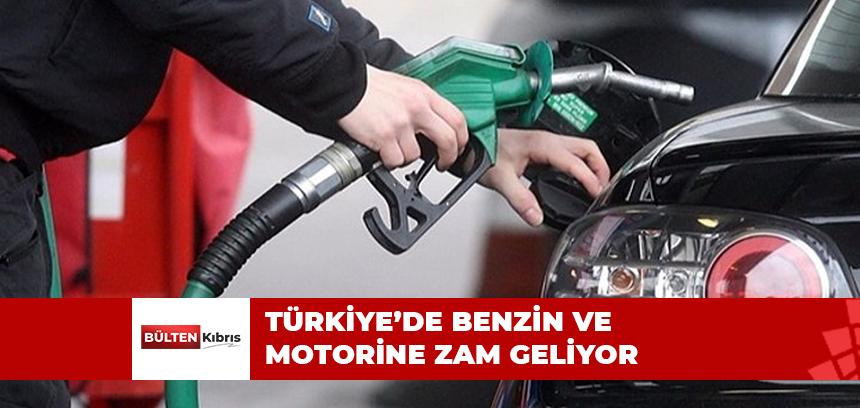 TÜRKİYE'DE BENZİN VE MOTORİNE BEKLENEN ZAM GELDİ
