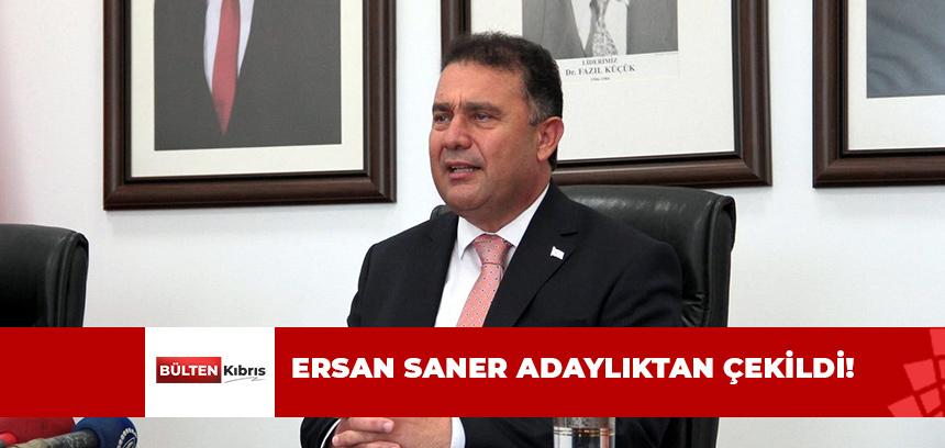 ERSAN SANER ADAYLIKTAN ÇEKİLDİ!