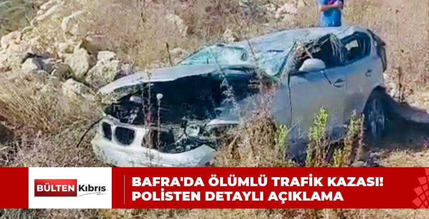 BAFRA'DA ÖLÜMLÜ TRAFİK KAZASI! POLİSTEN DETAYLI AÇIKLAMA